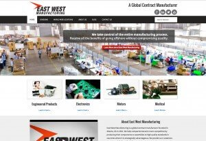 East West Manufacturing - Mobile Responsive - www.ewmfg.com