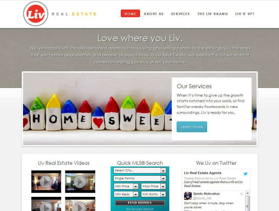 Liv Real Estate: Agency Theme Customization