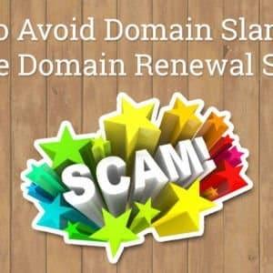 Fake Domain Renewal Scam