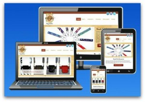 Mobile Responsive Websites can be viewed on desktops, laptops, tablets and phones.