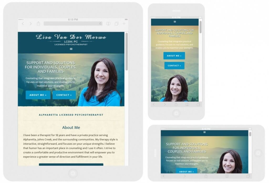 Mobile Responsive Web Design - LVCounseling.com