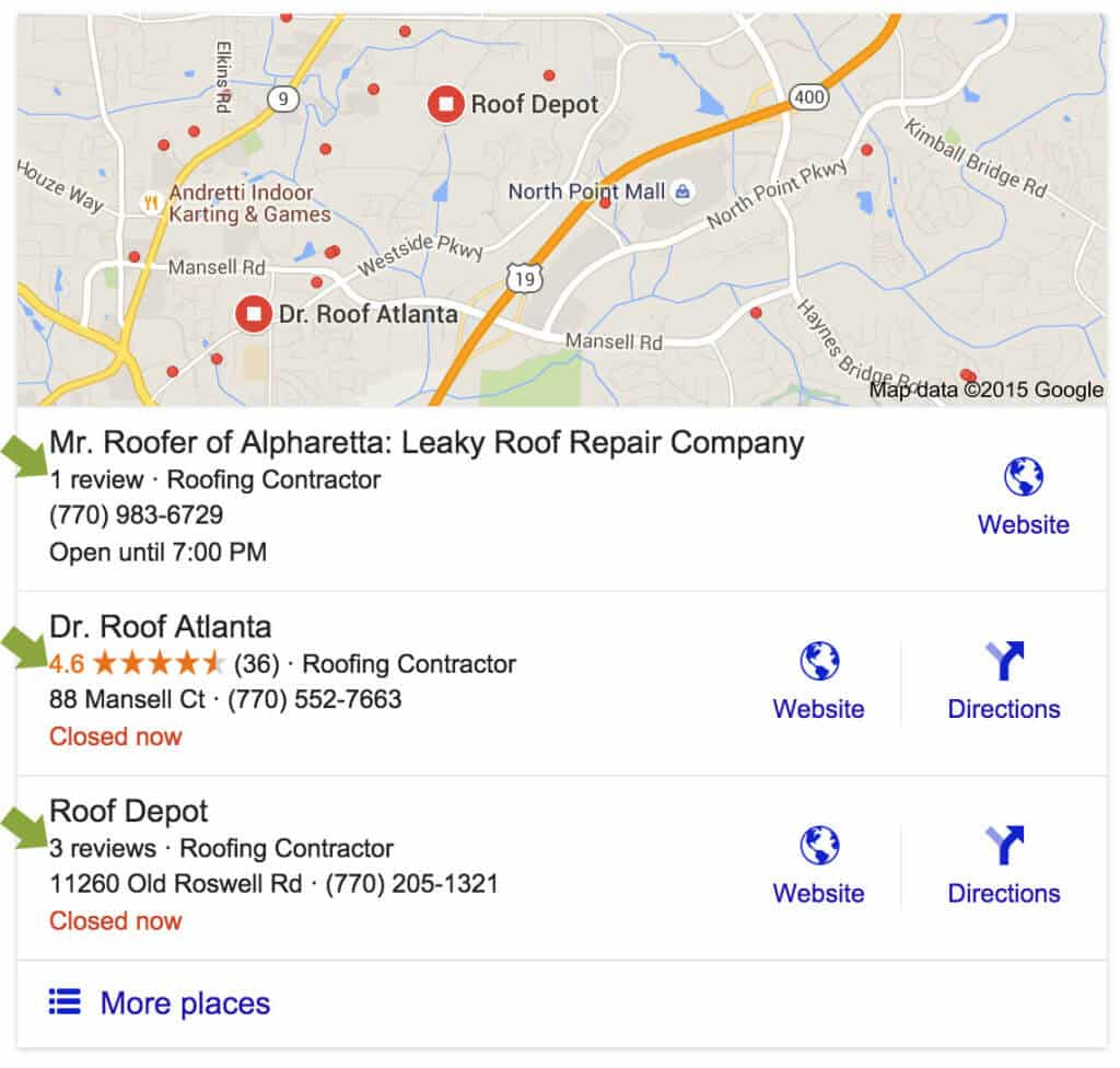 Get 5 Google Reviews and See the Stars on Your Listing
