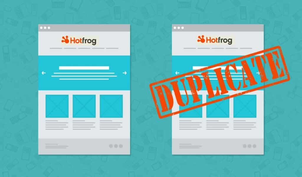 Remove a Duplicate Listing from HotFrog