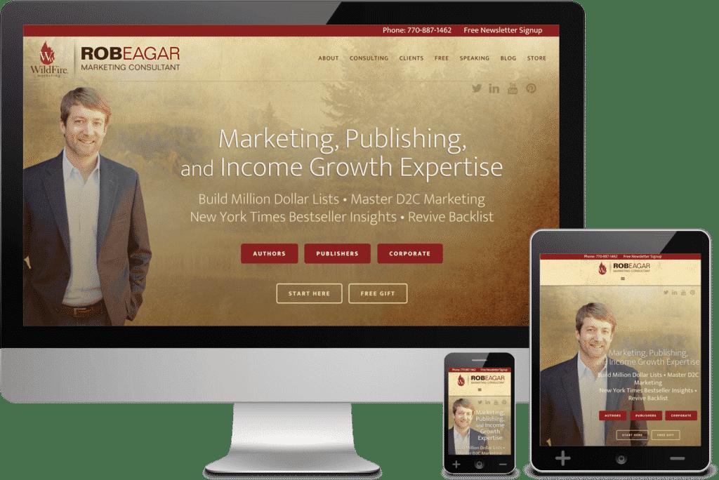 Suwanee GA Web Design Project for Wildfire Marketing