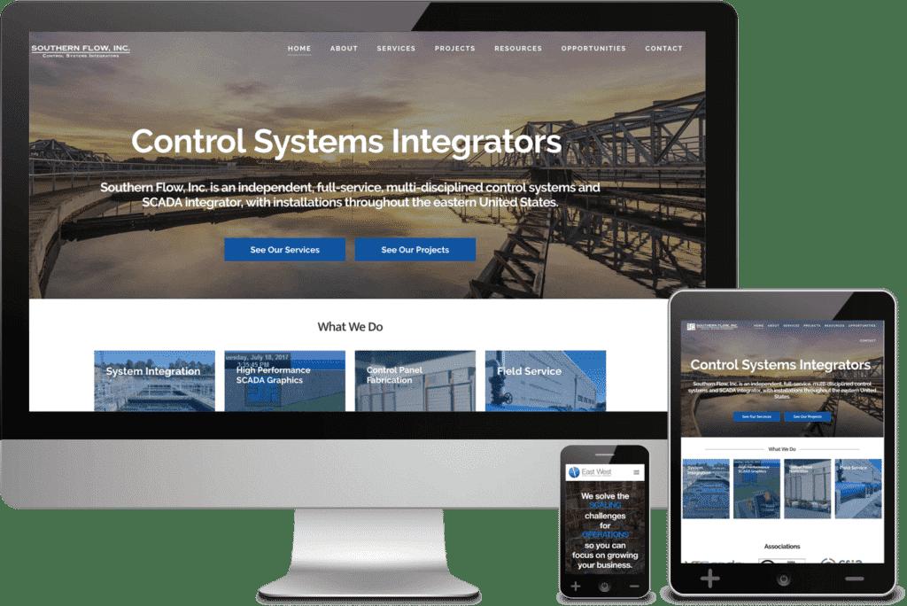 Southern Flow - Mobile Responsive Web Design