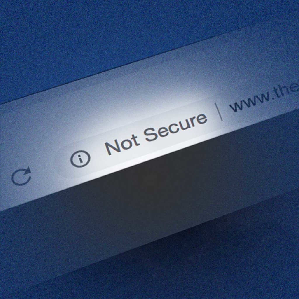 Why does Google Chrome say 'Not Secure'?
