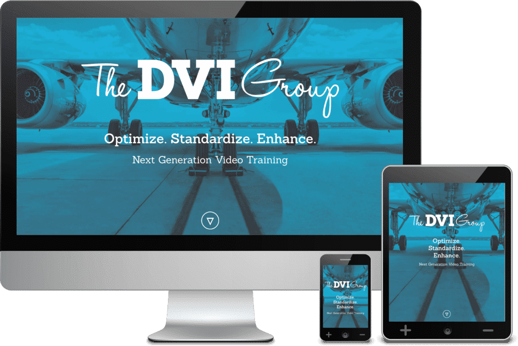 1 Page Website for Atlanta Web Design Client, The DVI Group