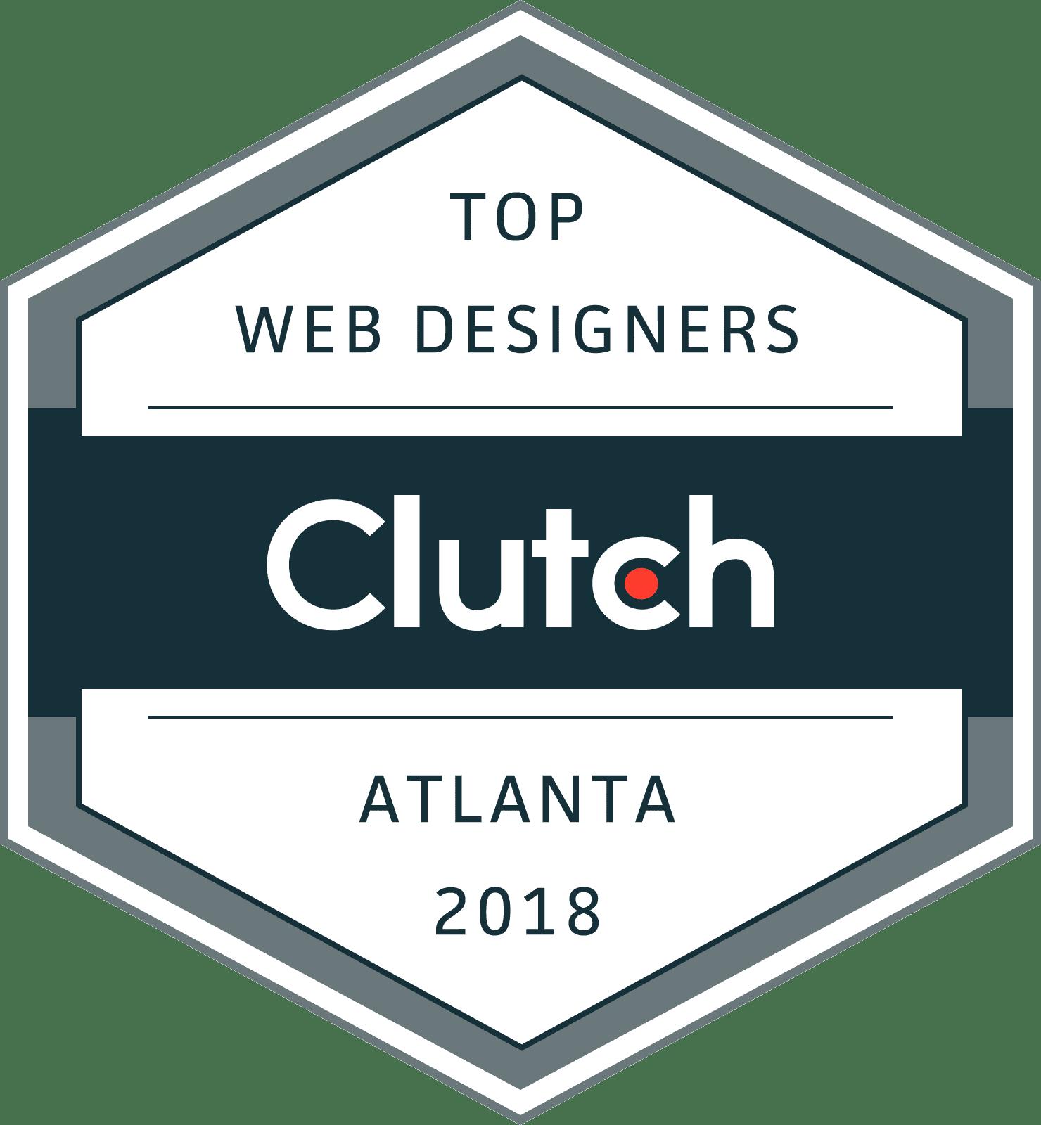 Clutch Top Atlanta Web Design Company 2018