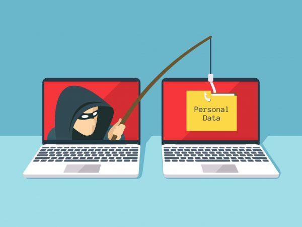 Cybercrime phishing for personal data