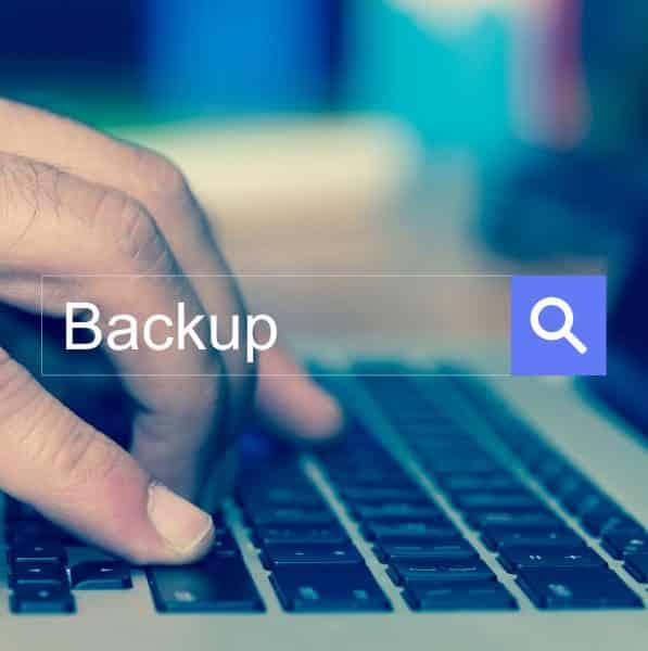 Website Backup Management